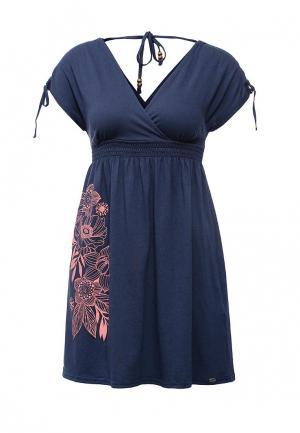 Платье Animal AN026EWIHM14. Цвет: синий