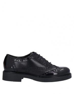 Обувь на шнурках GUGLIELMO ROTTA. Цвет: черный