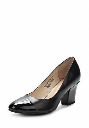 Туфли Clotilde SI293AWCQJ95. Цвет: черный