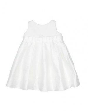 Платье LòLò. Цвет: белый