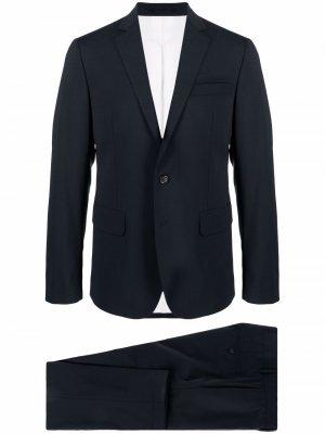 Костюм-двойка с однобортным пиджаком Dsquared2. Цвет: синий