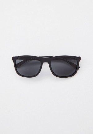 Очки солнцезащитные Emporio Armani EA4158 588987. Цвет: черный