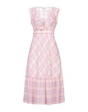 Платье длиной 3/4 ANNARITA N TWENTY 4H. Цвет: розовый