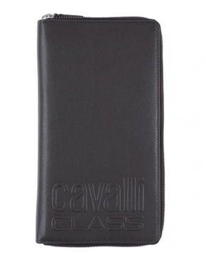 Бумажник CAVALLI CLASS. Цвет: темно-коричневый
