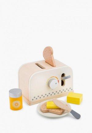 Набор игровой New Classic Toys Тостер. Цвет: разноцветный
