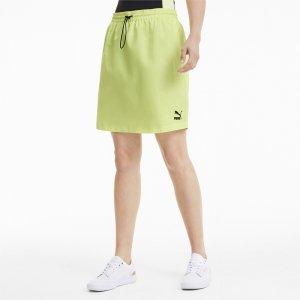 Юбка Classics Woven Skirt PUMA. Цвет: белый