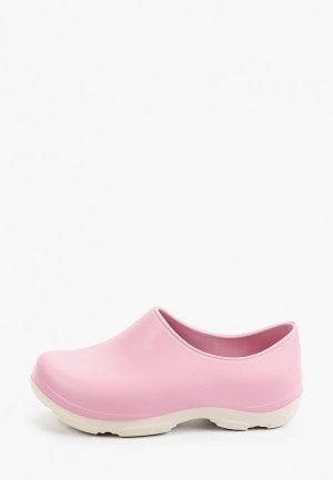 Галоши Ayo. Цвет: розовый