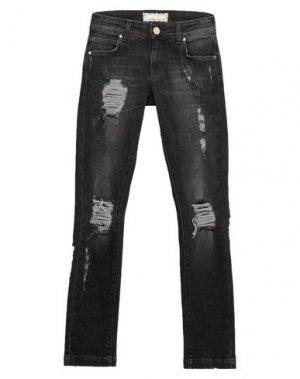 Джинсовые брюки G.SEL. Цвет: черный