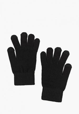 Перчатки Mango Man PE TOUCH. Цвет: черный