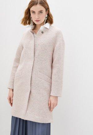 Пальто Снежная Королева. Цвет: розовый