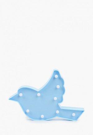 Светильник Risalux. Цвет: голубой