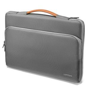 13-дюймовая сумка для ноутбука SHEIN. Цвет: серый