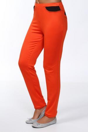 Брюки Lissa. Цвет: оранжевый