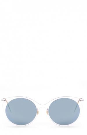 Солнцезащитные очки J.Lindeberg. Цвет: прозрачный