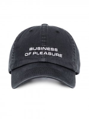 Бейсболка Business of Pleasure MISBHV. Цвет: черный