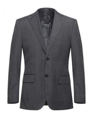 Пиджак TRU TRUSSARDI. Цвет: свинцово-серый