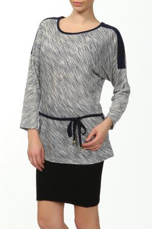 Блузка Cliche. Цвет: серый