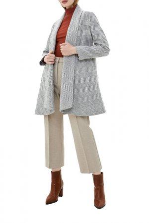 Пальто El Caballo. Цвет: серый