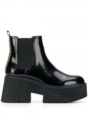 Ботинки Fita Buffalo. Цвет: черный