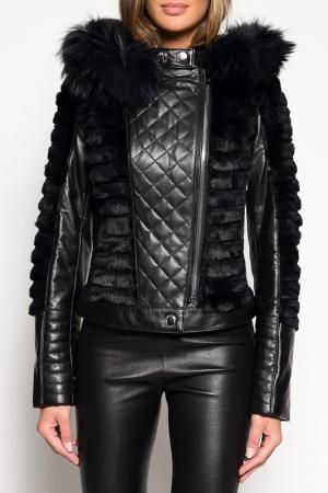 Куртка Giorgio. Цвет: black