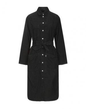 Платье до колена HAIKURE. Цвет: черный