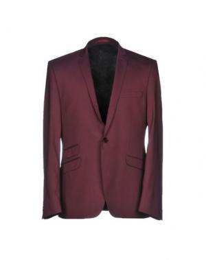 Пиджак BEN SHERMAN. Цвет: красно-коричневый