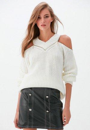 Пуловер Love Republic Exclusive online. Цвет: бежевый