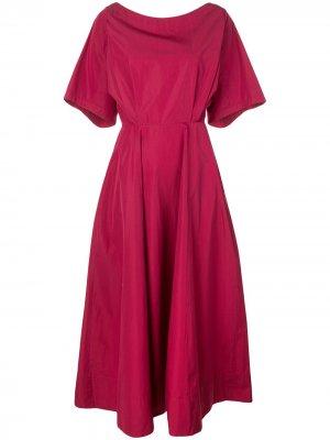Платье-миди с короткими рукавами Derek Lam. Цвет: розовый
