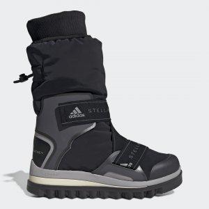 Зимние сапоги by Stella McCartney adidas. Цвет: черный