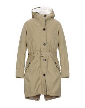 Пальто PEOPLE OF SHIBUYA. Цвет: бежевый