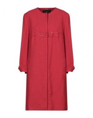 Легкое пальто LES COPAINS. Цвет: красный