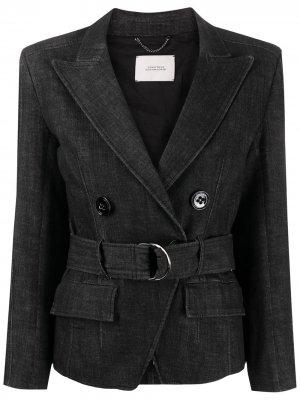 Джинсовая куртка Sharpness Dorothee Schumacher. Цвет: синий