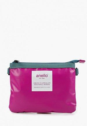Сумка Anello. Цвет: розовый