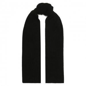 Кашемировый шарф Moorer. Цвет: чёрный