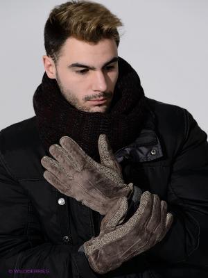 Перчатки Modo. Цвет: серо-коричневый