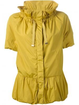 Ветровка с короткими рукавами Herno. Цвет: жёлтый и оранжевый