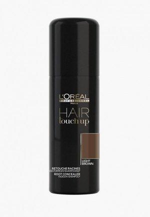 Консилер LOreal Professionnel L'Oreal Hair Touch Up светло-коричневый, 75 мл. Цвет: коричневый