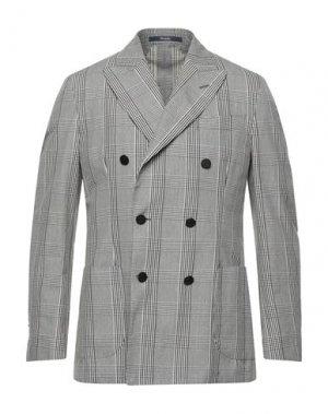 Пиджак DRUMOHR. Цвет: серый