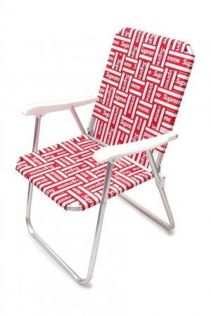 Стул Lawn Chair Red Supreme. Цвет: красный