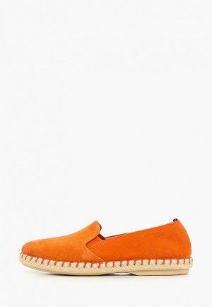 Эспадрильи Dali. Цвет: оранжевый