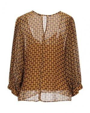 Блузка ATTIC AND BARN. Цвет: охра