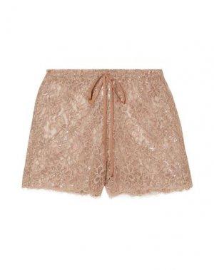 Пляжные брюки и шорты MIGUELINA. Цвет: телесный