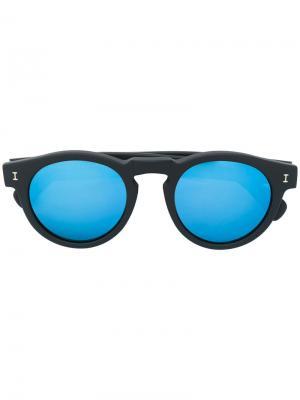 Солнцезащитные очки Leonard Illesteva. Цвет: чёрный
