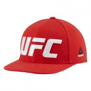 Кепка UFC Flat Peak Reebok. Цвет: primal red