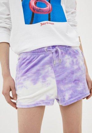 Шорты спортивные Juicy Couture. Цвет: фиолетовый