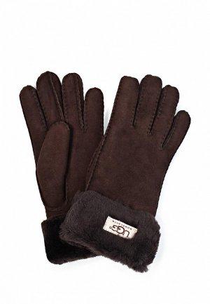 Перчатки UGG Australia UG174DWJG875. Цвет: коричневый