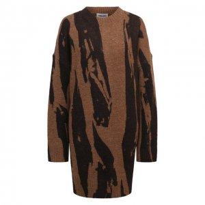 Платье Kenzo. Цвет: коричневый