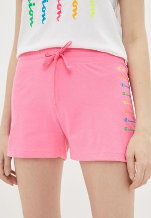 Шорты спортивные Champion LEGACY Shorts. Цвет: розовый