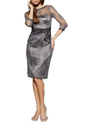 Платье Apart. Цвет: серый