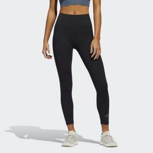 Леггинсы для фитнеса Alphaskin HEAT.RDY 7/8 Performance adidas. Цвет: черный